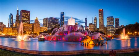 Chicago City Waterfall 8k, Hd World, 4k Wallpapers, Images