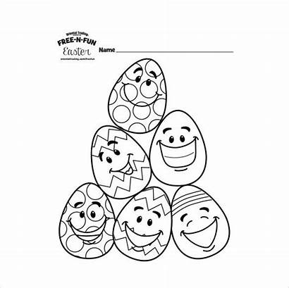 Easter Coloring Pdf Colouring Pages Character Format