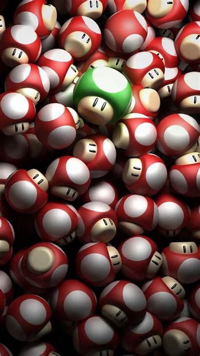 Mario Iphone Super Wallpapers Mushrooms