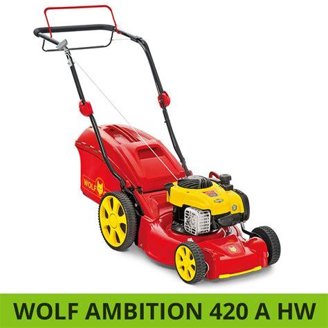 Wolfgarten Ambition 420 A Hw Vergleich Benzinrasenmäher