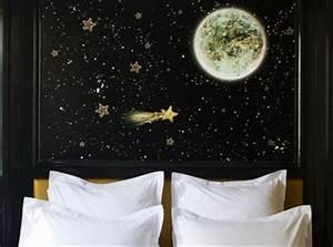 fabriquer et peindre tete de lit etoileejpg furniture With peindre tete de lit mur