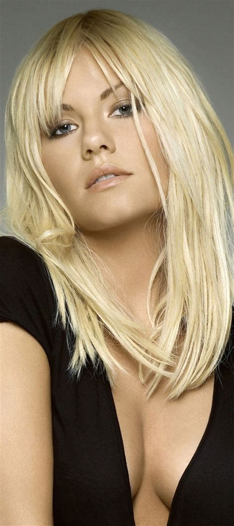 elisha cuthbert hair color hair colar  cut style