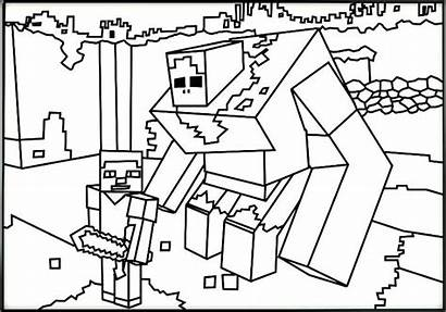 Minecraft Coloring Pages Ghast Wither Printable Getcolorings