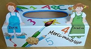 Cadeau Pour Maitresse D École : boite mouchoirs cole cadeau pour une maitresse mes ~ Melissatoandfro.com Idées de Décoration