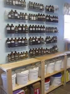 Essential Oil Storage Ideas
