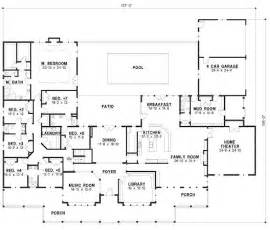 six bedroom house plans 7 bedroom house plans page 2