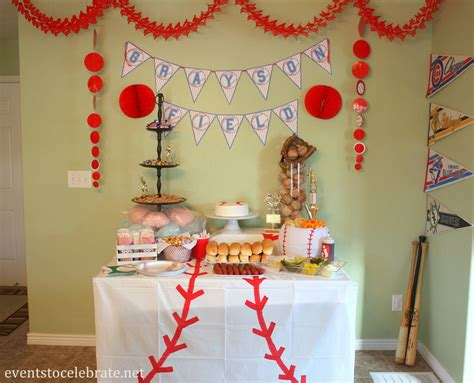 Baseball Birthday Party Ideas  Events To Celebrate