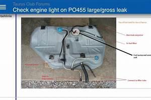 2004 Taurus Fuel Tank Component Identification