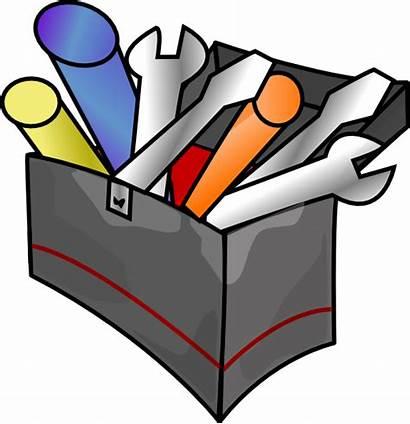 Tool Box Clip Clker Clipart Vector