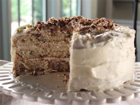 Pour the mixture over the dough in the pan and use a spatula to smooth over the top. Iced Italian Cream Cake Recipe | Trisha Yearwood | Food ...