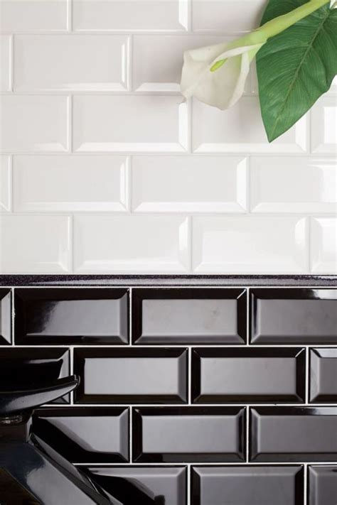 Groutless Stone Floor Tile by 25 Best Ideas About Black Subway Tiles On Pinterest