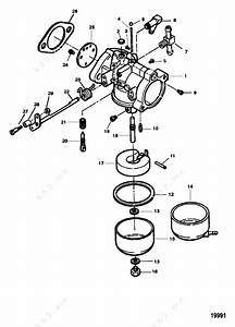 Mercury Force 90 H P  1997  Carburetor