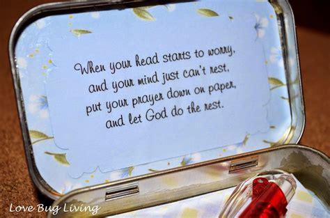 love bug living prayer box   altoids tin great
