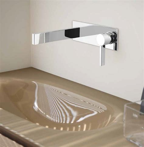 kitchen sinks faucets luxury wall mount bathroom faucet caso chrome