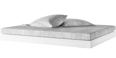 Bett Silentium  Puristisches Designbett Von Rechteck