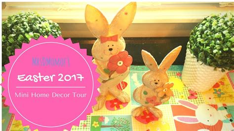 Easter Home Decor Styling: Easter 2017 Mini Home Decor Tour