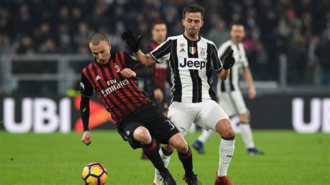 Juventus vs Milan: football Serie A 2017/2018 fixture | AC Milan