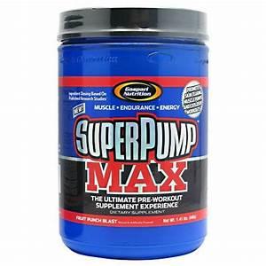 Gaspari Nutrition Super Pump Max  Fruit Punch  1 41