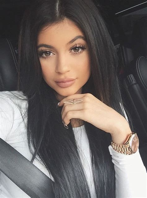 Baby Blue And Brown Bathroom Set by Kylie Jenner Admits She Takes 500 Selfies To Get The