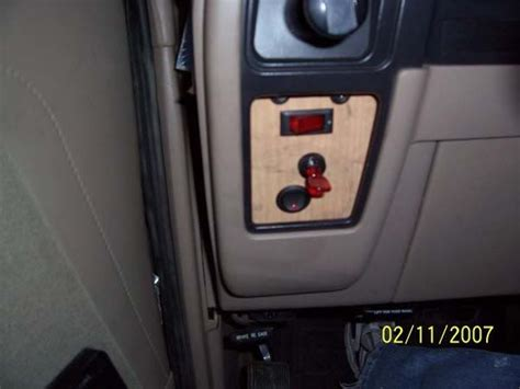 road light switch panel road light wiring install switch panel before after