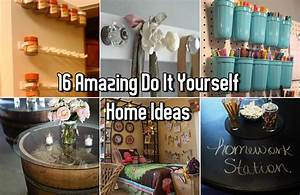 16, Amazing, Do, It, Yourself, Home, Ideas
