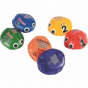 Edubug, Bean, Bags, Set, Of, 6, Colors