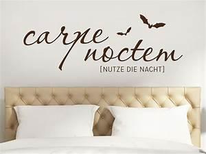 Wandtattoo Carpe Noctem : stunning carpe noctem wandtattoo images thehammondreport ~ Sanjose-hotels-ca.com Haus und Dekorationen