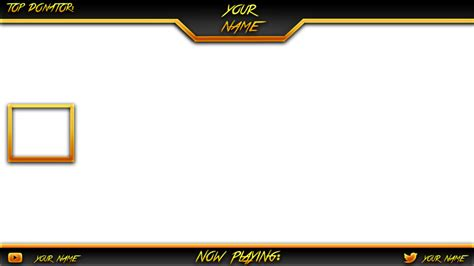 Twitch Overlay Template Overlay Template By Chunkydruffy On Deviantart