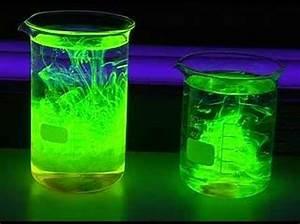 V 134 fluorescence of various neon light materials 1