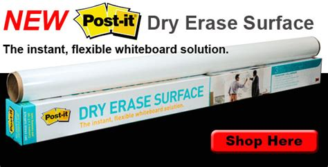 Office Supplies Near Me Now by Post It Erase Surface Banner