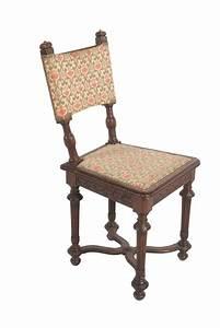 Chaise Louis Xiii : petite chaise de style louis xiii en ch ne dossier droit ~ Melissatoandfro.com Idées de Décoration
