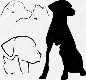 The gallery for --> Cat And Dog Silhouette Clip Art