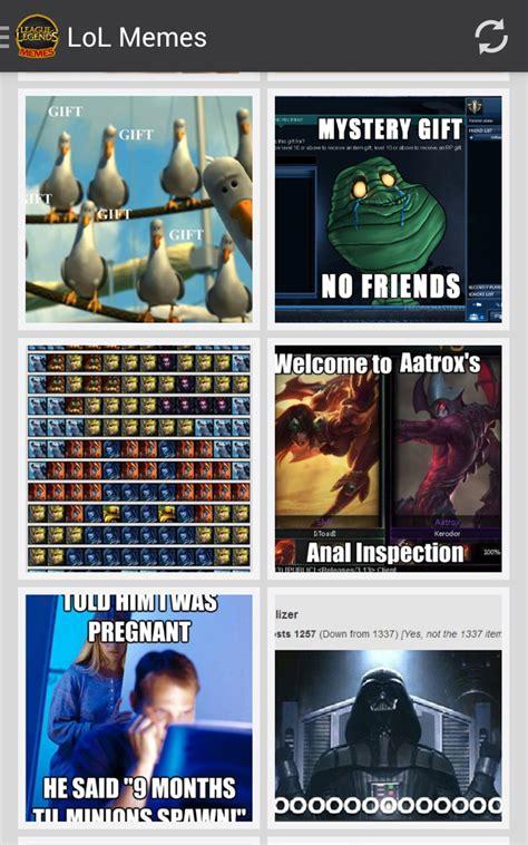 lol memes league  legends amazoncombr amazon appstore