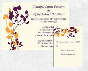 Top 10 Fall Wedding Invitations 2014 At ...