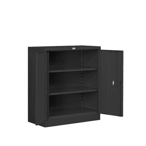 black metal storage cabinet salsbury industries 8000 series 2 shelf heavy duty metal