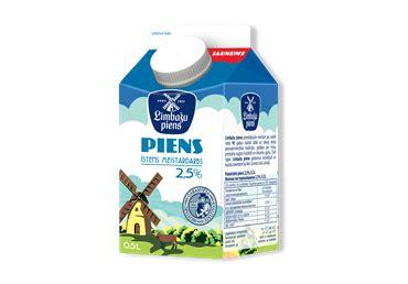 Piens LIMBAŽU PIENS 2.5% 0.5L