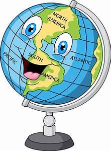 Globe Terrestre Carton : cartoon happy globe stock vector illustration of funny 55852450 ~ Teatrodelosmanantiales.com Idées de Décoration