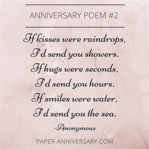 beautiful anniversary poems  inspire paper