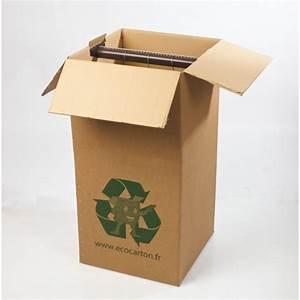 Carton De Déménagement Pas Cher : carton penderie pas cher acheter carton penderie avec ~ Melissatoandfro.com Idées de Décoration