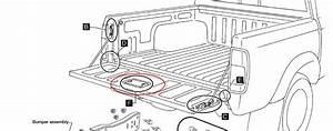 Nissan Frontier Tailgate Parts Diagram