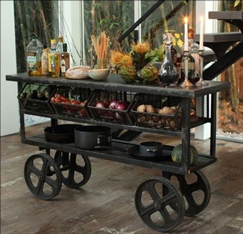 industrial kitchen cart industrial kitchen trolley cart cast iron wheels