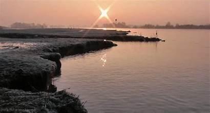 Gifs River Paisajes Landscape Netherlands Sungai Giphy