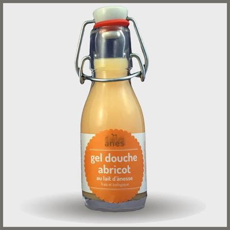 Gels Douche Limonade Abricot 100ml  Eacale Provence