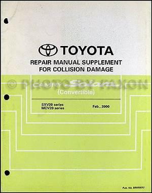 200toyota Camry Solara Wiring Diagram Manual Original 24766 Getacd Es