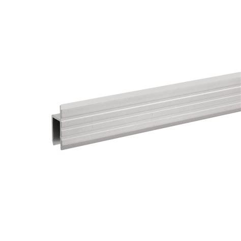 adam profil 233 aluminium en h pour portes de service mat 233 riau 9 5 mm en vente chez global