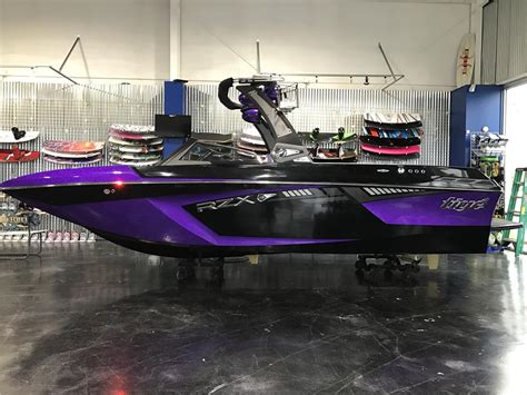 Tige Boats Osage Beach by 2017 Tige Rzx3 Vivid Purple Black Fully Loaded Up For