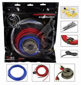Bullz Audio 10 Gauge 800 Watt Amplifier Amp Wiring Kit