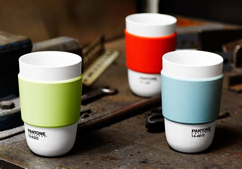 color cup pantone color cup with silicone band expertly chosen gifts