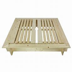 Sandkasten  Sandspielkasten Aus Holz Mit Abdeckung