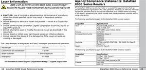 Cognex Dm8000 Barcode Scanner User Manual 08 User Guide